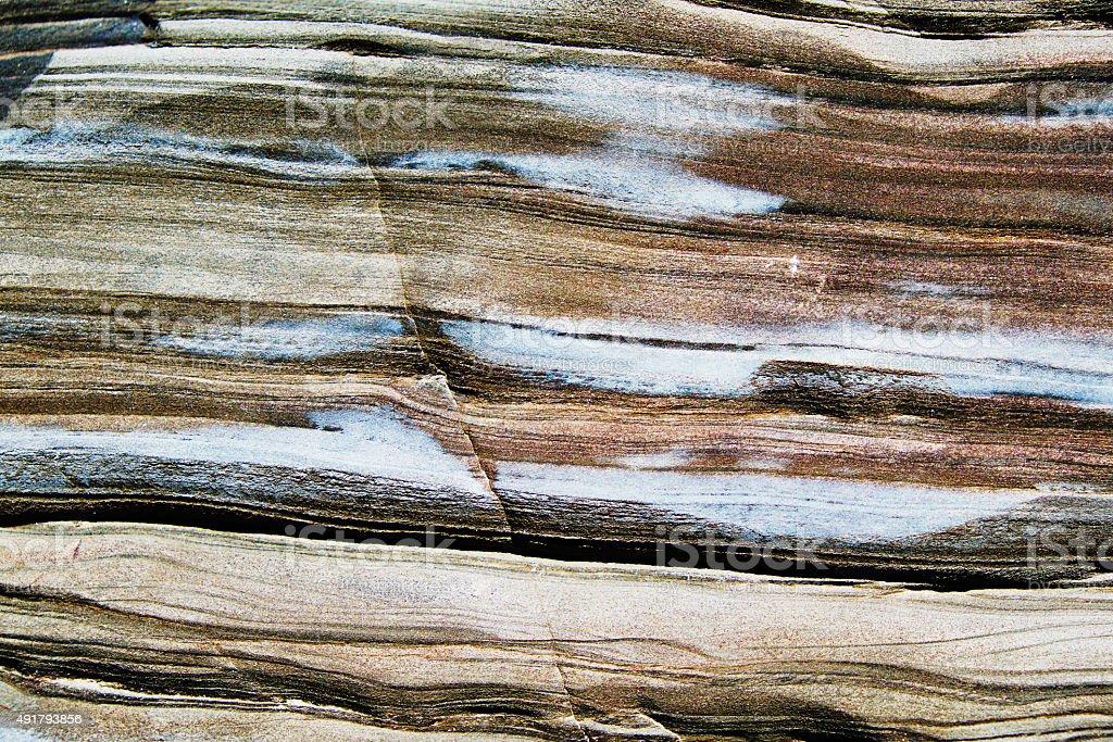 Iron ore surface stock photo