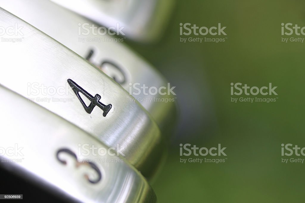 FOUR Iron stock photo
