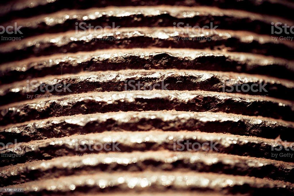 Iron Pipe Detail royalty-free stock photo