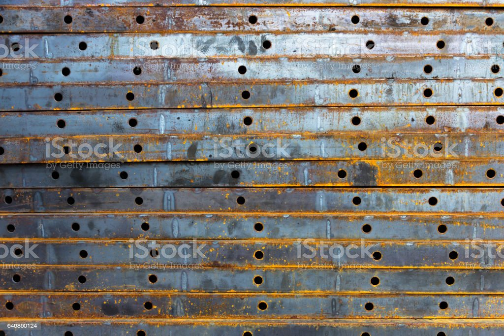 iron plate stock photo