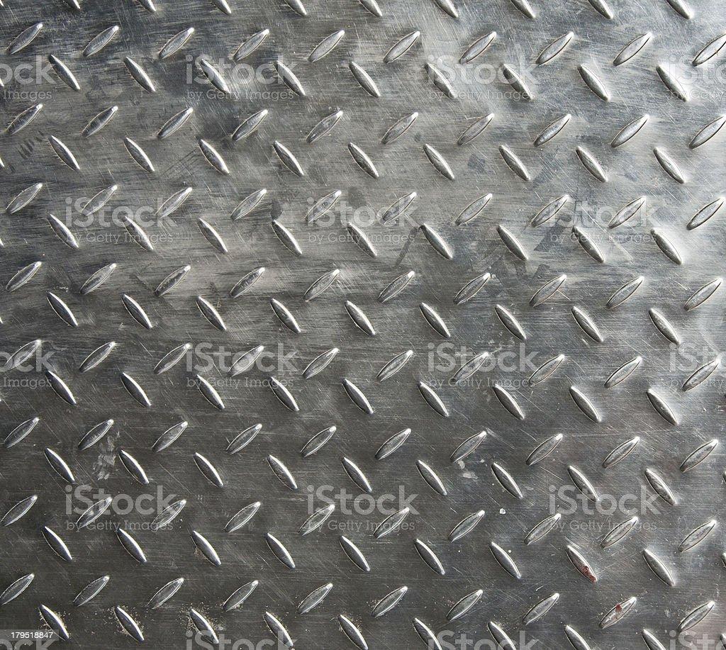 Iron plate with decorative pattern stock photo