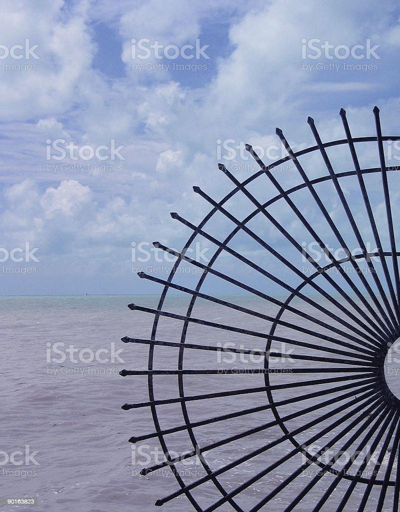Iron Rays at Key West royalty-free stock photo