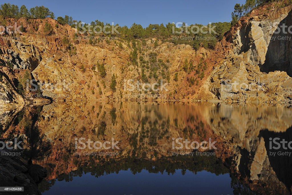 Iron Rock stock photo