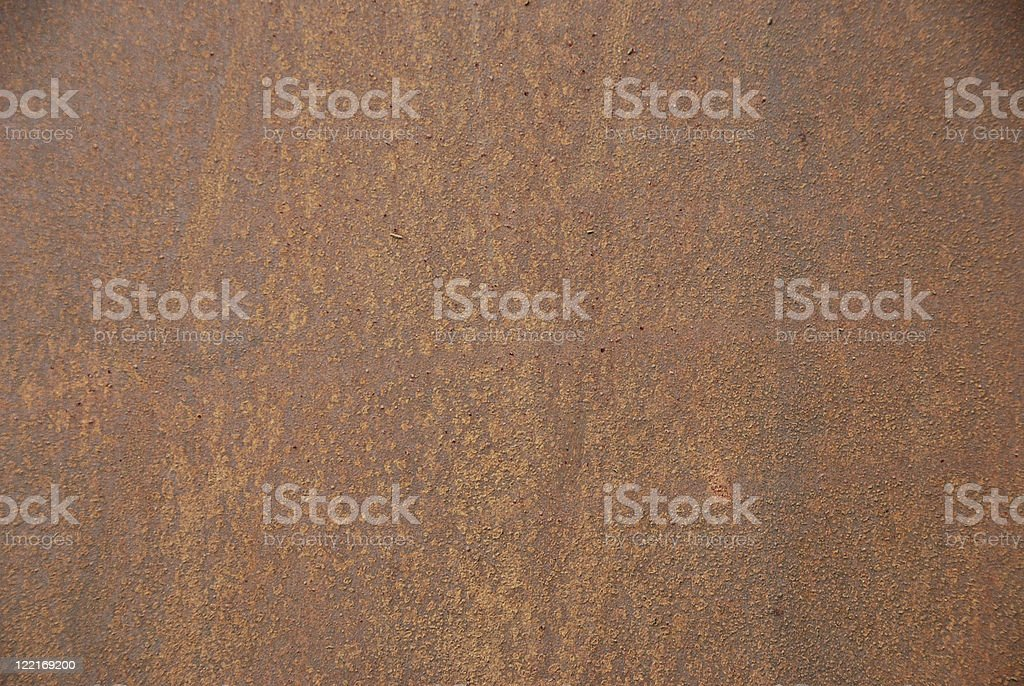 Iron Rust Background royalty-free stock photo