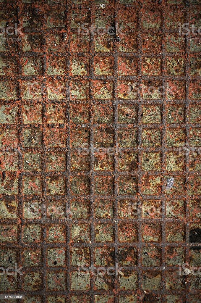 Iron rust texture royalty-free stock photo