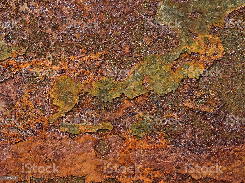 Iron Rust two royalty-free stock photo