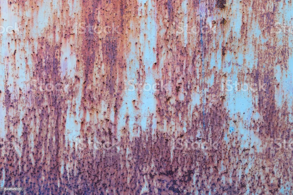 Iron rust with corrosion background stock photo