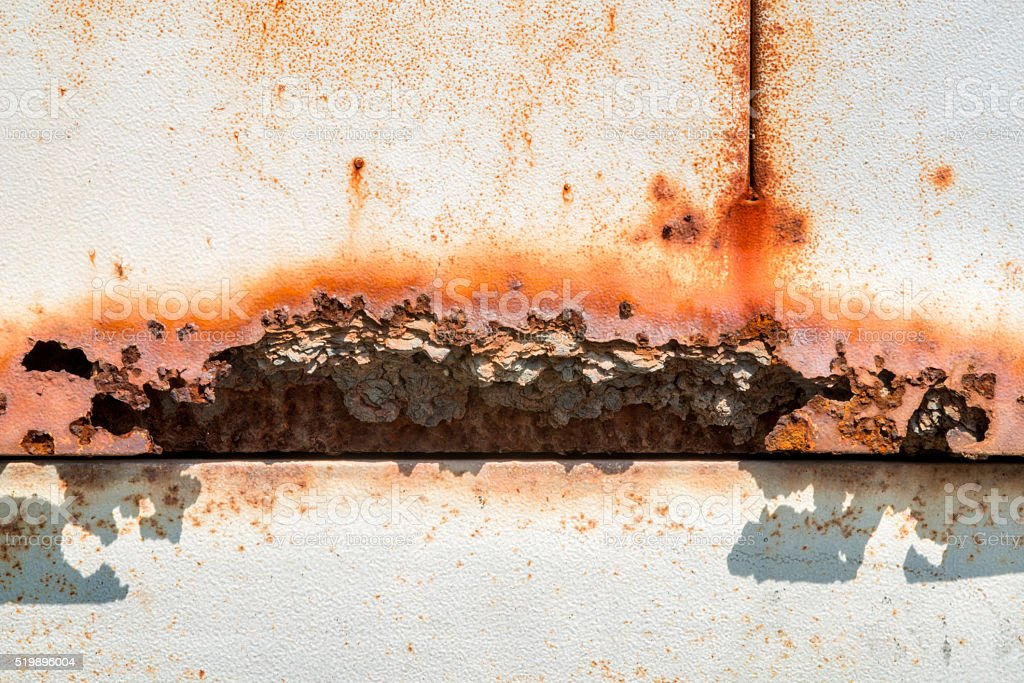 iron rusty artistic wall stock photo