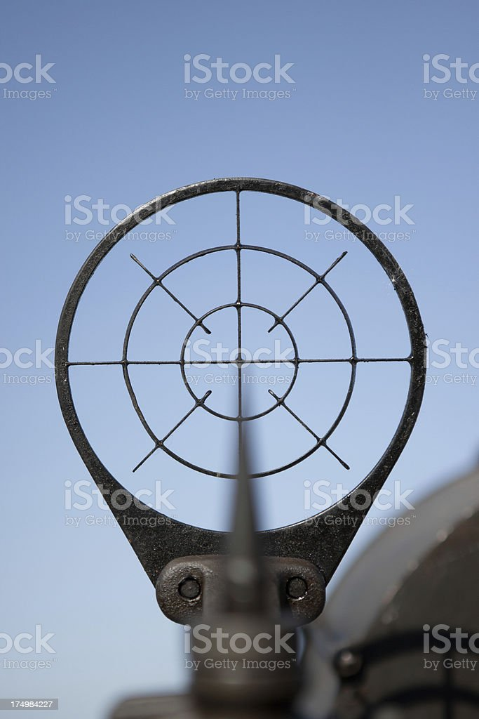Iron Sight stock photo