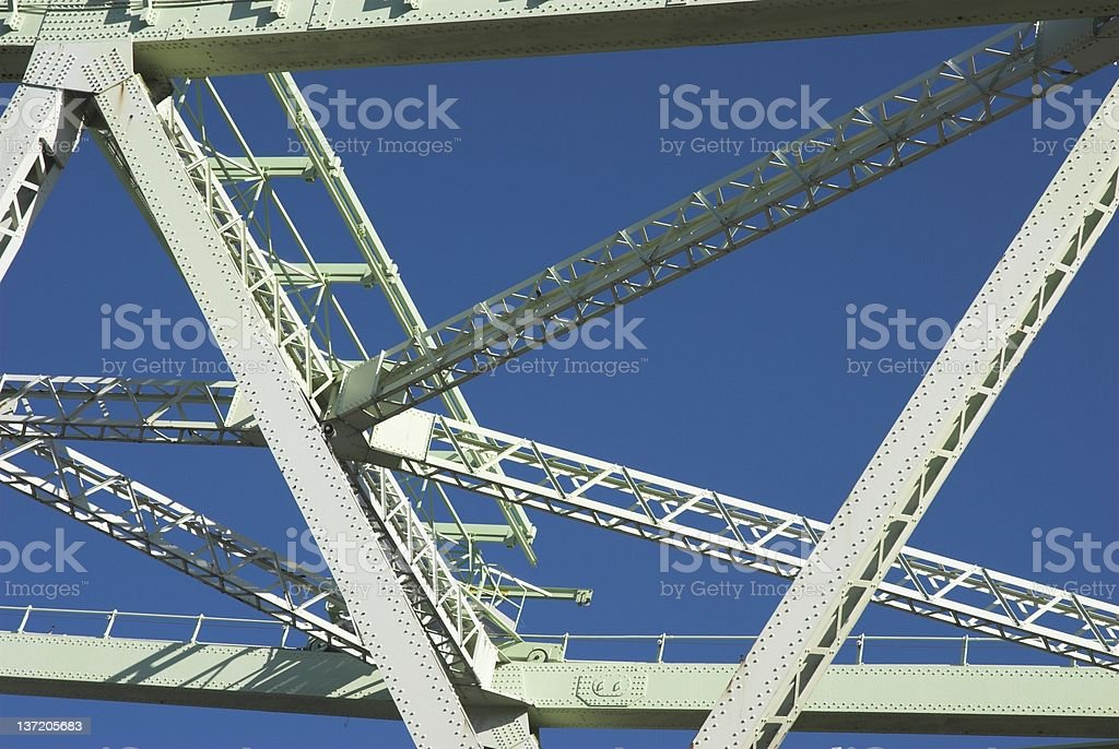 Iron Structure stock photo