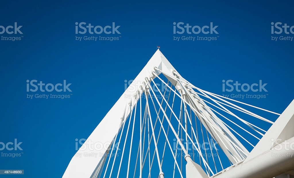 Iron estructure stock photo