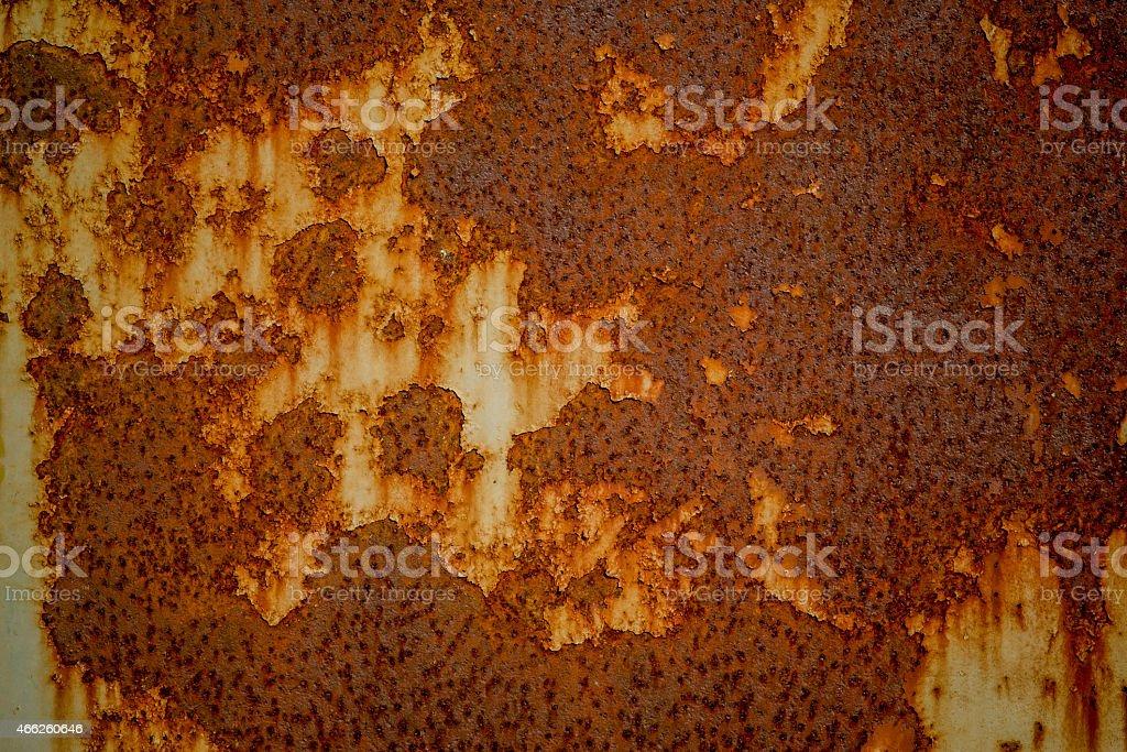 Iron surface rust stock photo