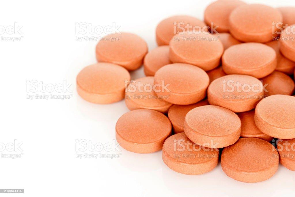 Eisen Vitamin Tablet-Zusatzpräparate – Foto