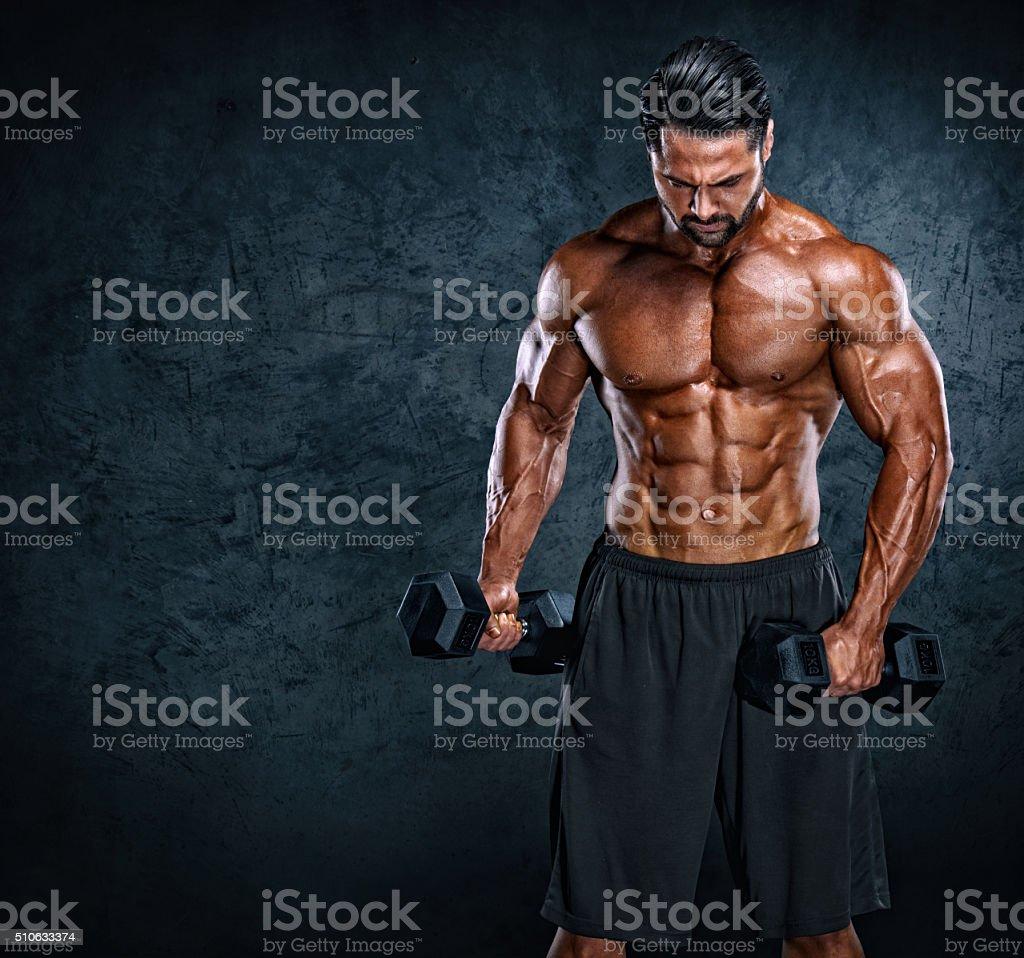 Iron Warrior stock photo