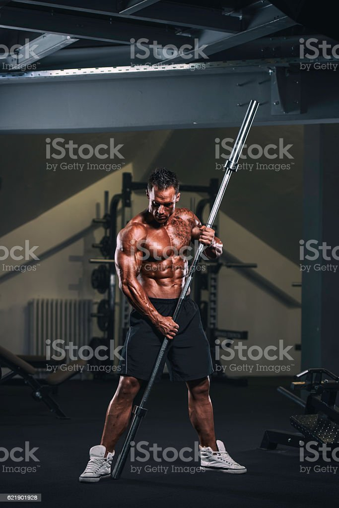 Iron Warrior stock photo