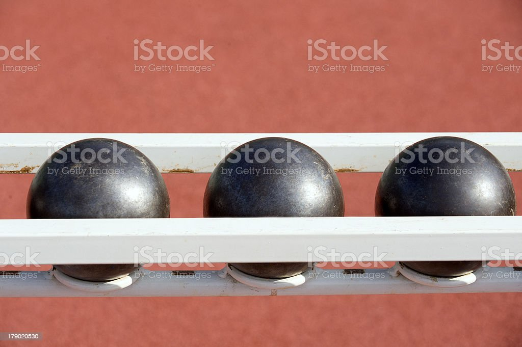 Iron weights royalty-free stock photo