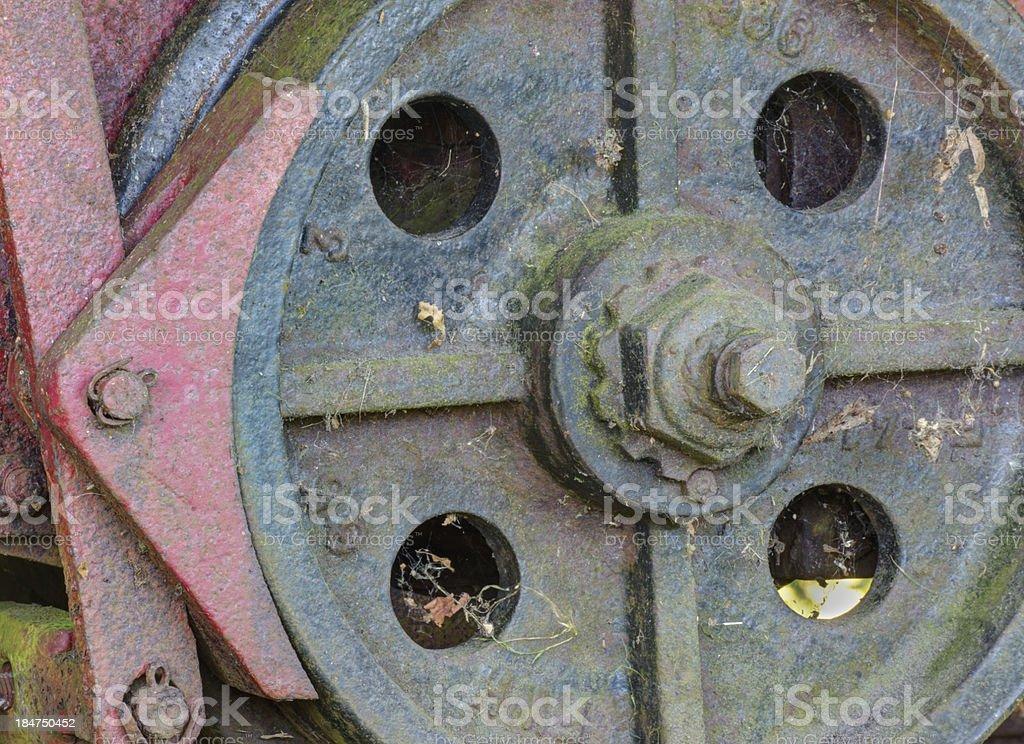 Iron wheel royalty-free stock photo