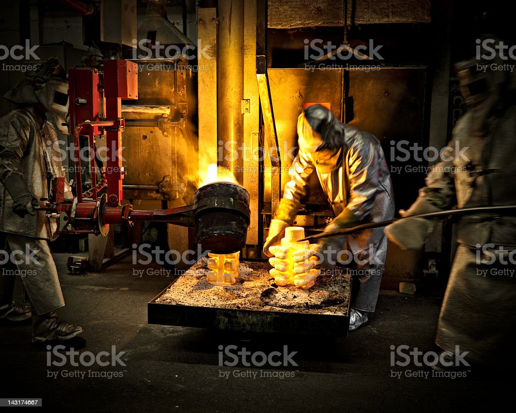 iron workers royalty-free stock photo