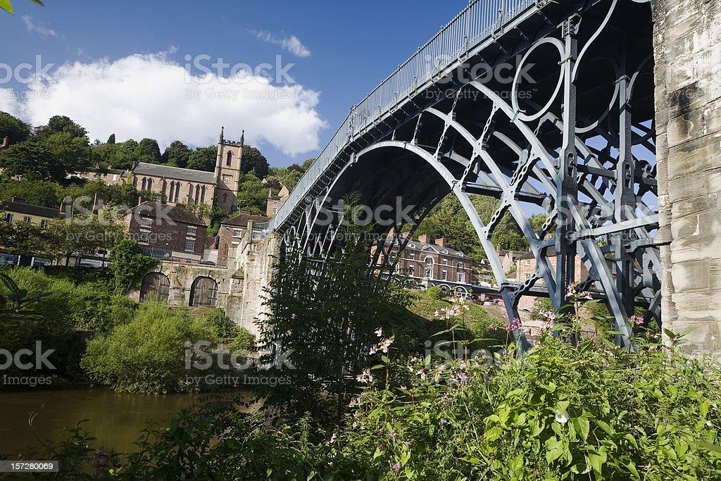 Ironbridge royalty-free stock photo