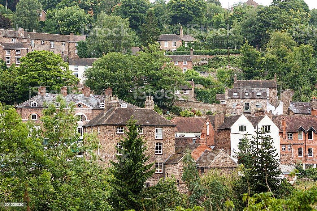 Ironbridge, Shropshire, Inghilterra foto stock royalty-free