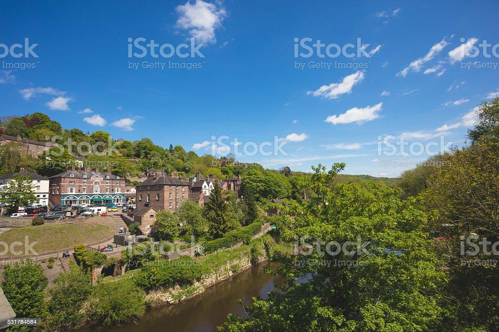 Ironbridge Shropshire stock photo