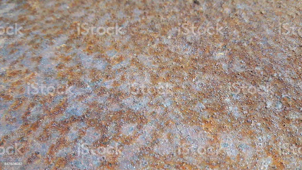 Ironh Oxide - Rust stock photo