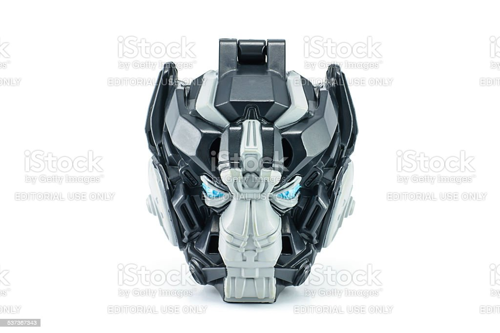 Ironhide toy character from TRANSFORMERS Movie. stock photo