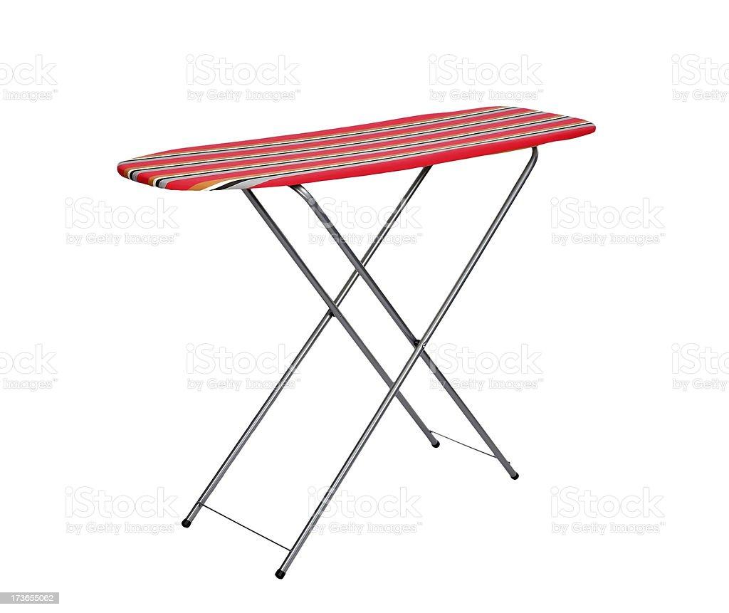 ironing board stock photo