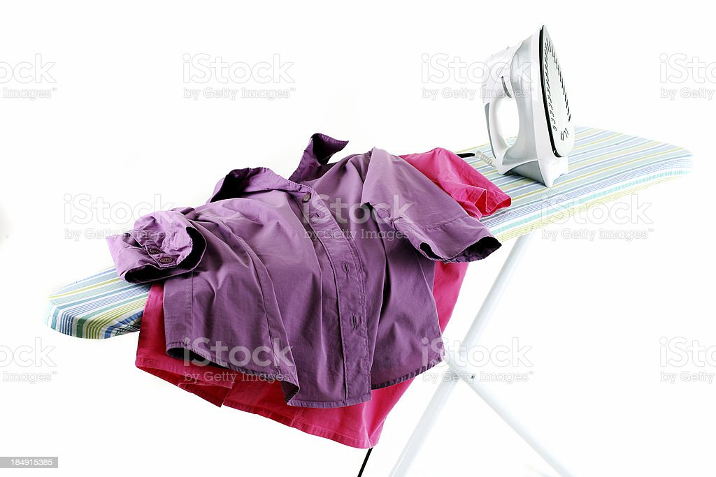 Ironing board royalty-free stock photo