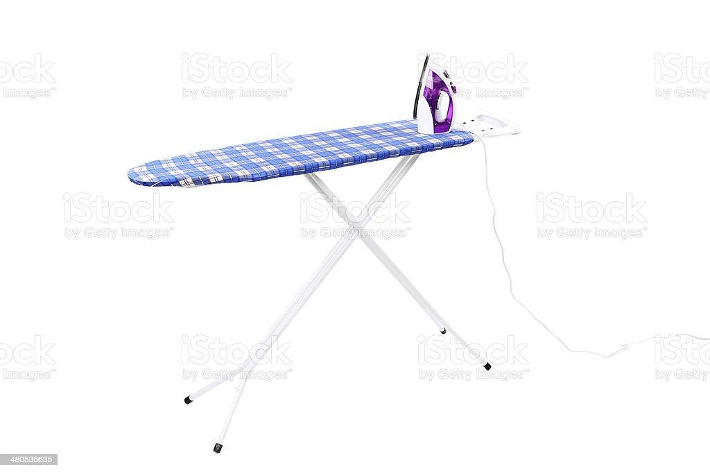 Ironing board. stock photo