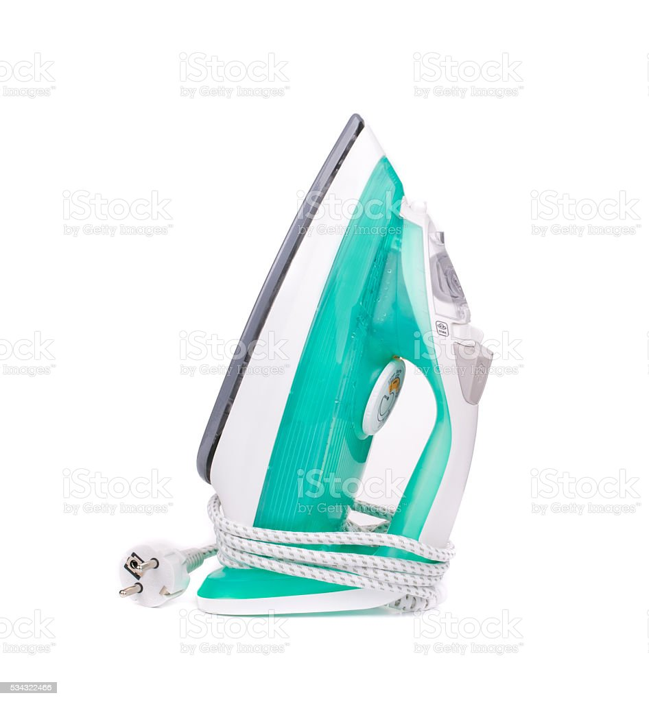 Ironing tool. stock photo
