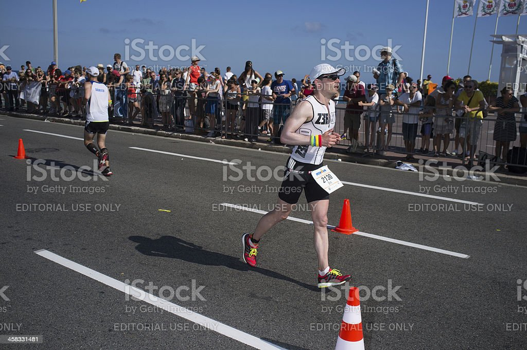Ironman 2013 edition,Nice,France royalty-free stock photo