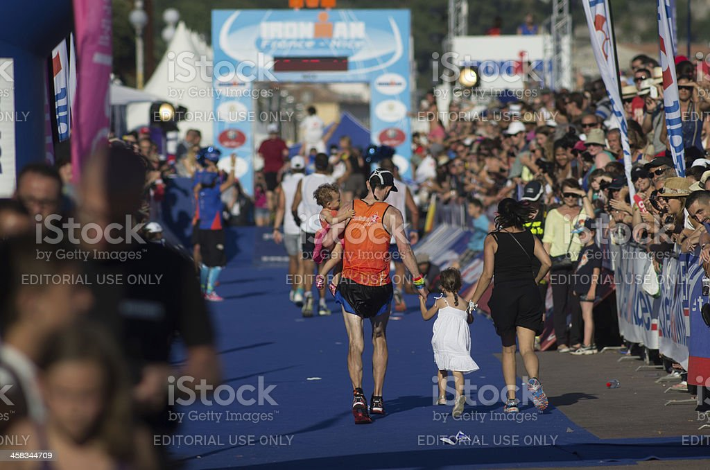 Ironman 2013 edition,Nice,France stock photo