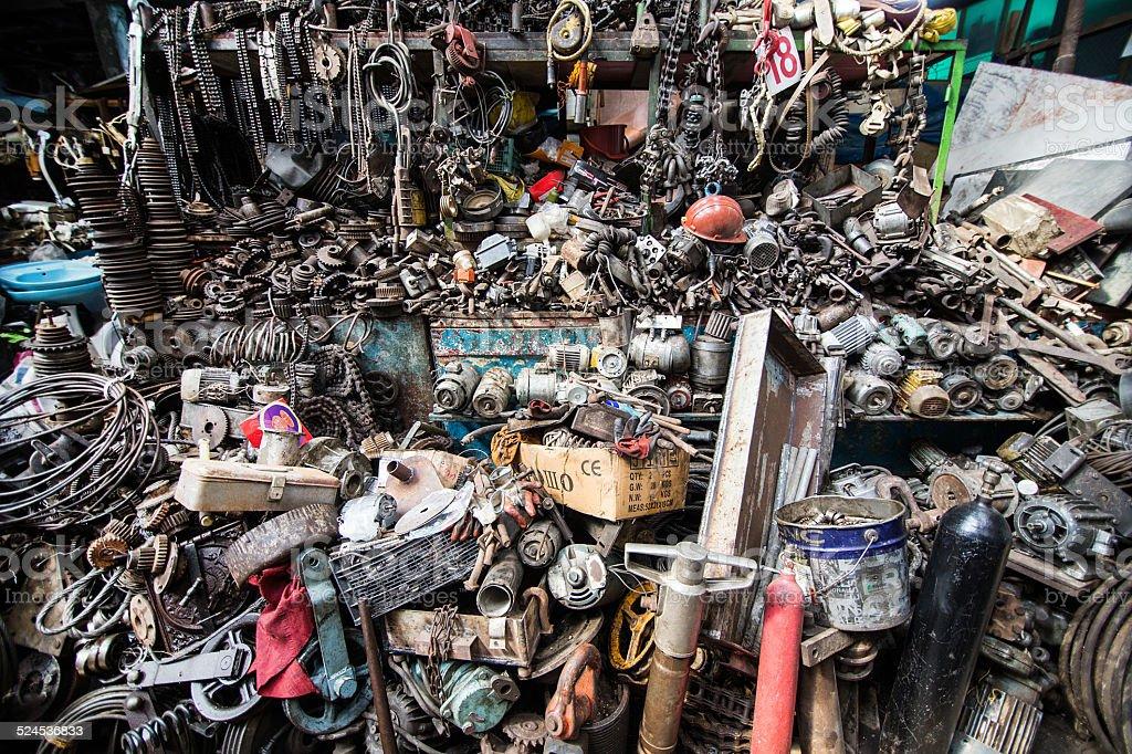 Ironmongery Bazaar stock photo