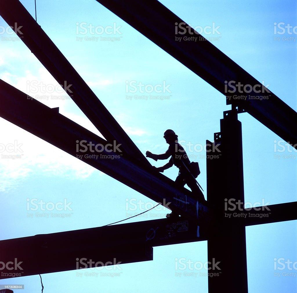 Ironworker stock photo