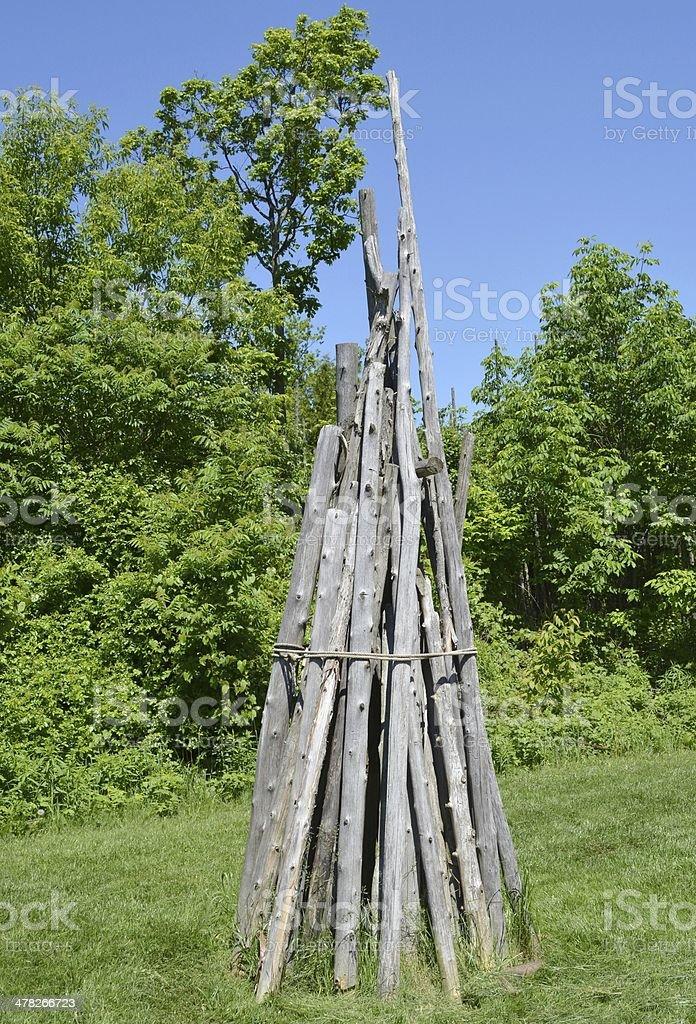 Iroquois Artifact stock photo