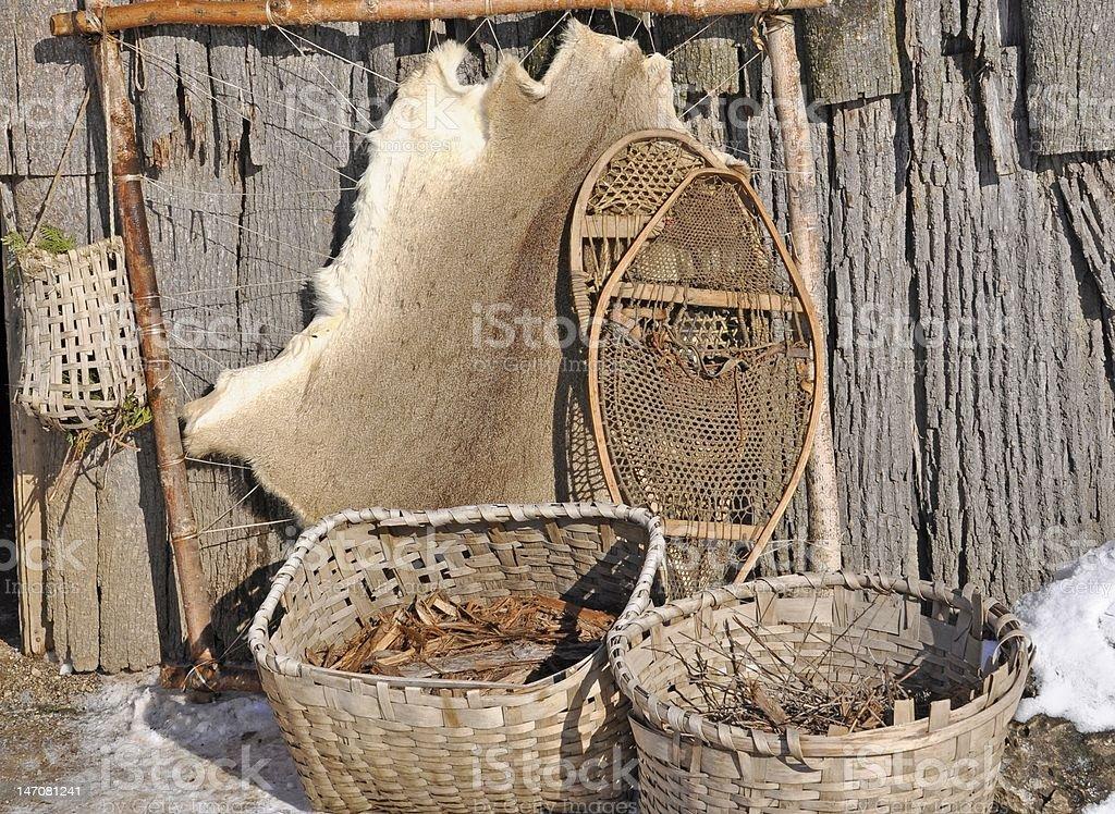 Iroquois Artifacts stock photo