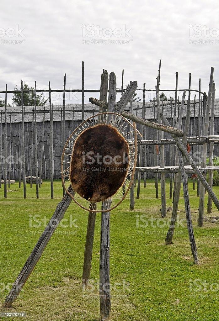 Iroquois Artifacts, Summer stock photo