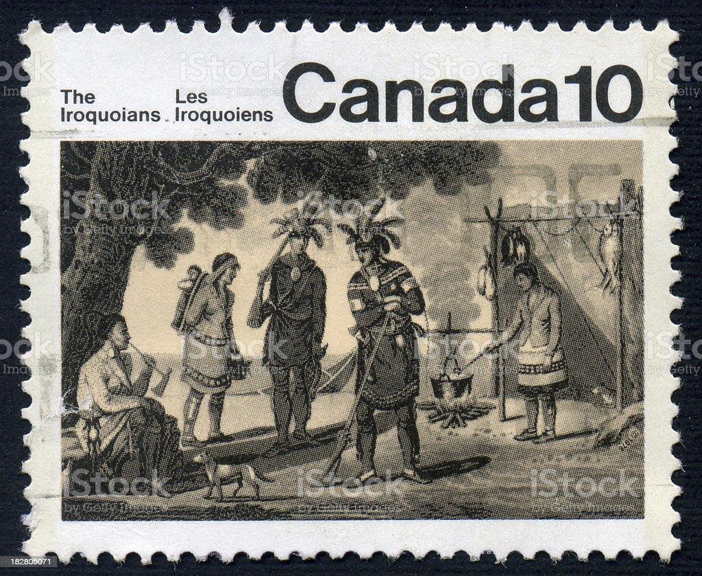 Iroquois stock photo