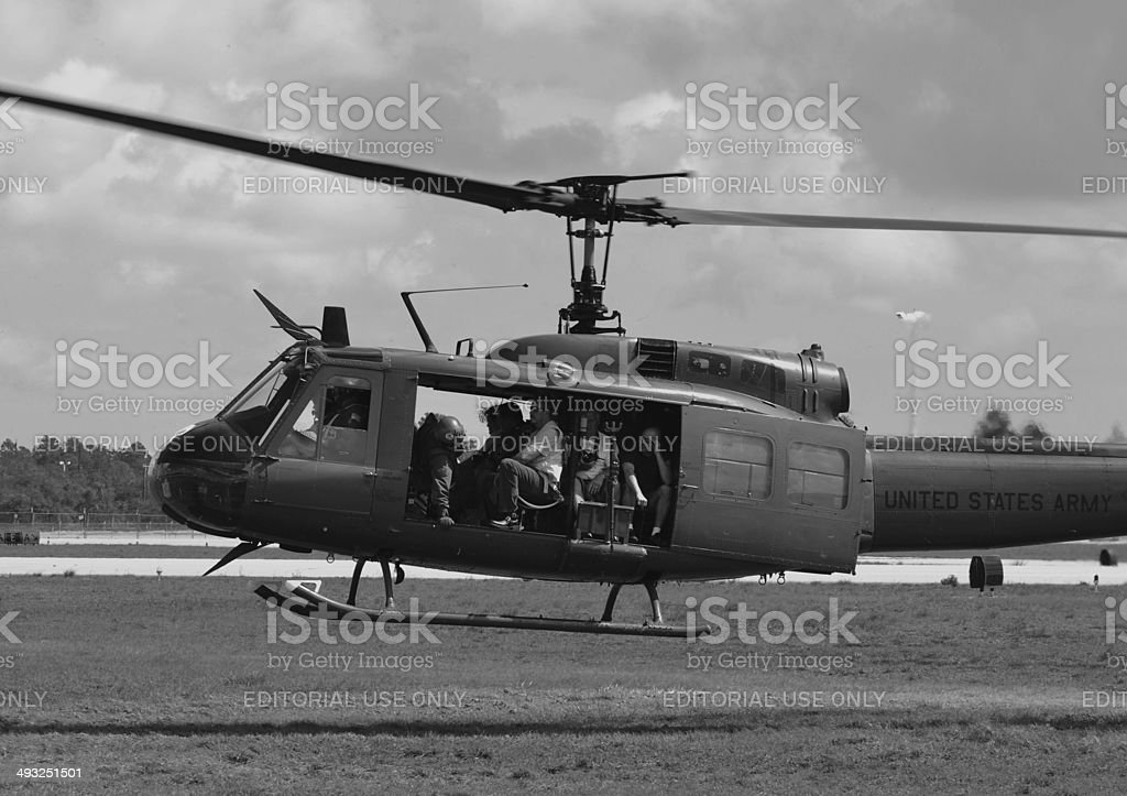 UH-1 Iroquois/Huey stock photo