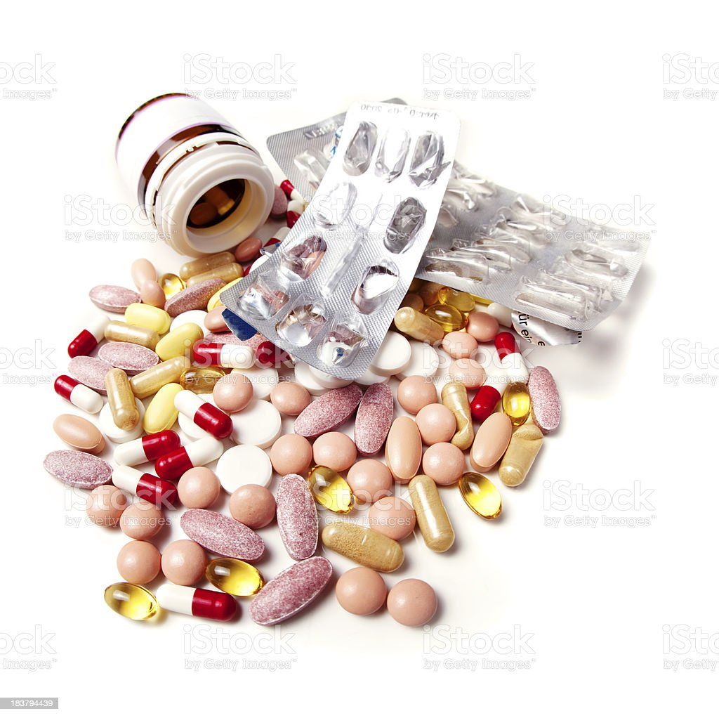 Irrational drug use royalty-free stock photo