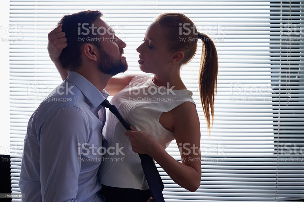 Irresistible desire stock photo