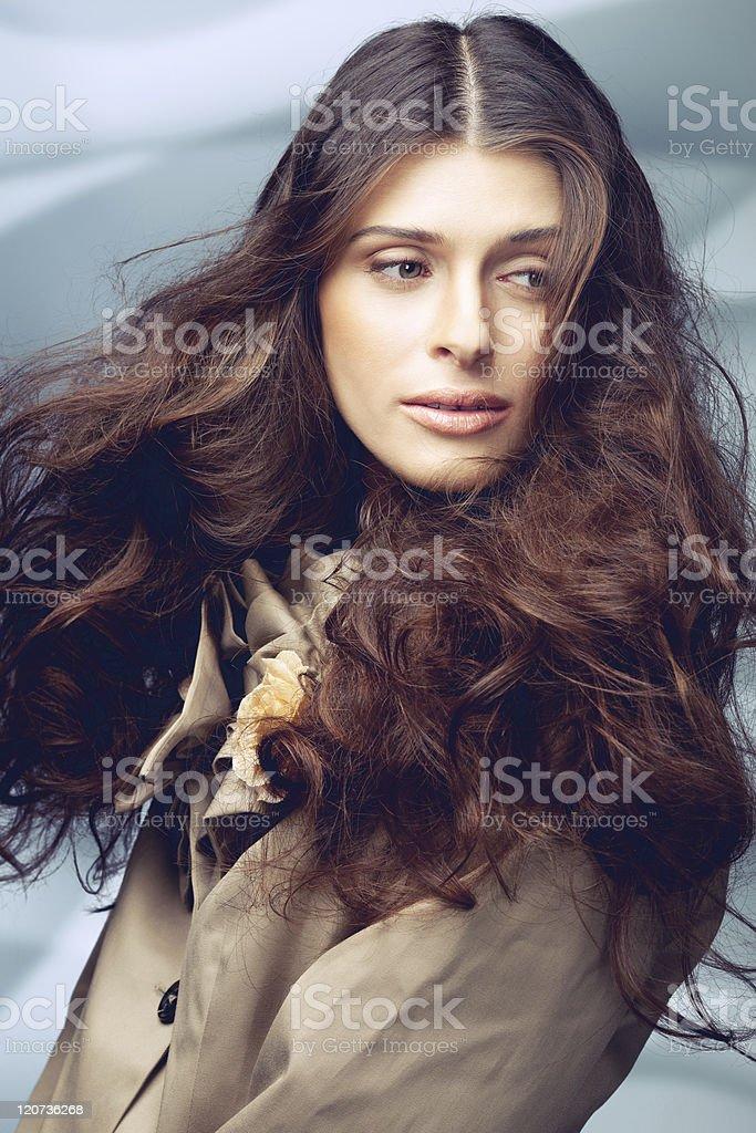 Irresistible lady royalty-free stock photo