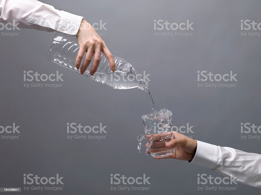 Irrigate stock photo