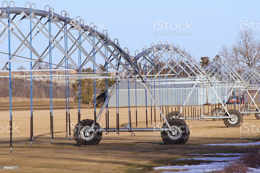 Irrigation Pivot royalty-free stock photo