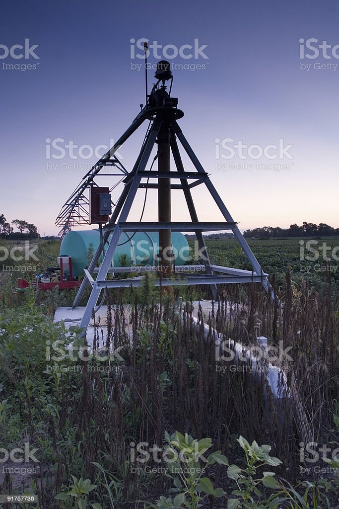 Irrigation Pivot royalty-free stock photo