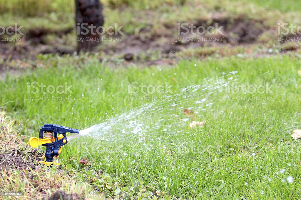 irrigation system royalty-free stock photo