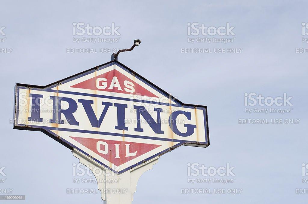 Irving Oil stock photo
