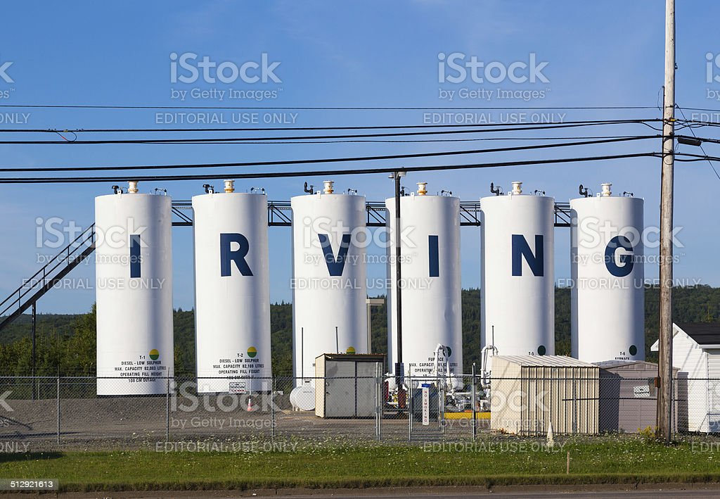 Irving Structures stock photo