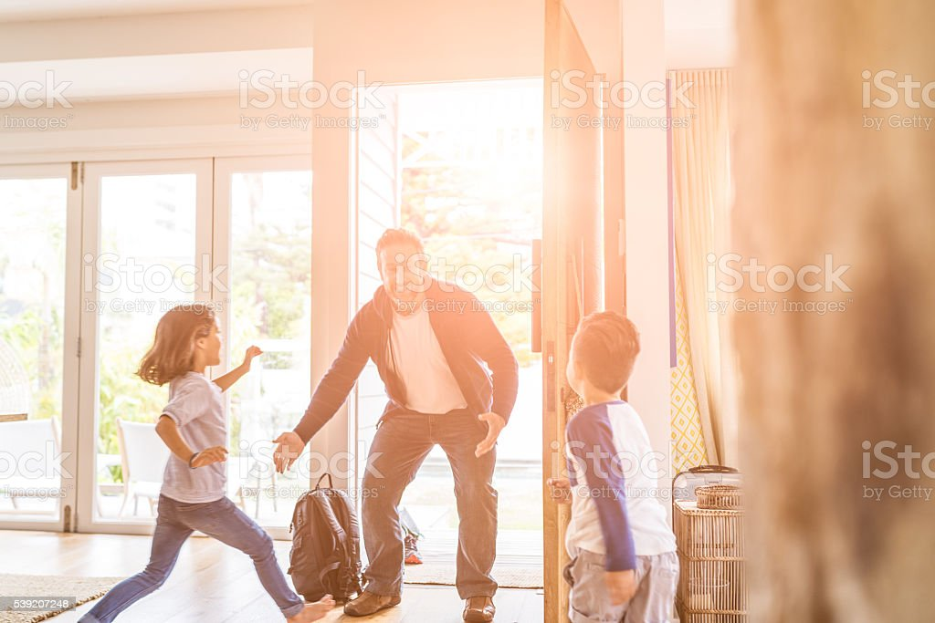 Is anybody home? stock photo
